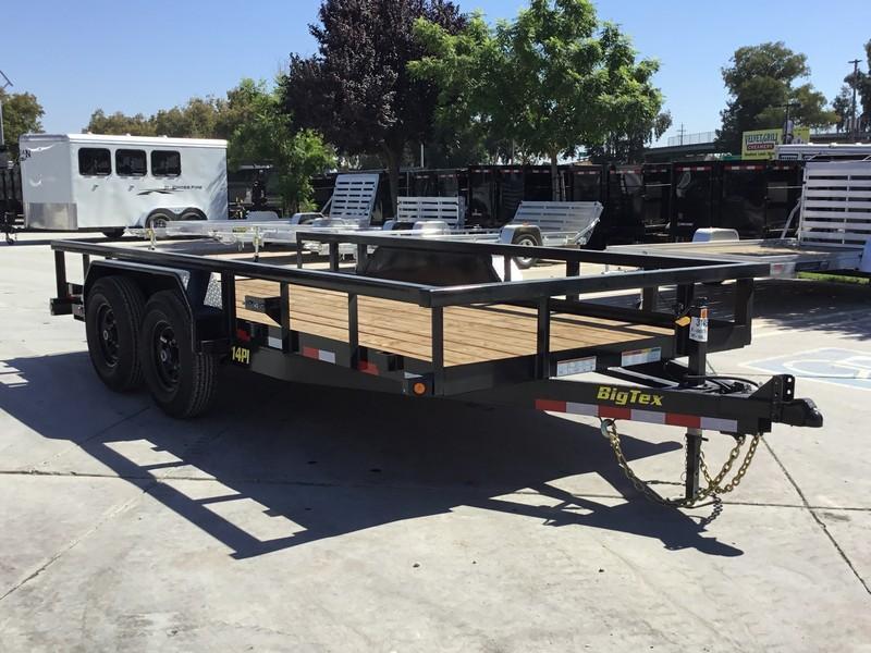New 2019 Big Tex 14PI-16 7x16 14K Equipment Trailer