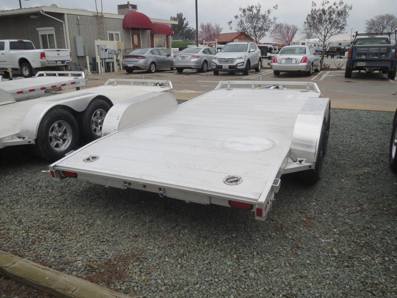 "2017 Aluma 8214B Car / Racing Trailer 82""x14' 7k GVW VIN:46128"