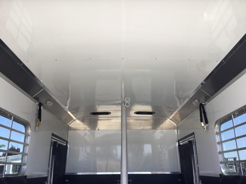 NEW 2019 Logan Warmblood XT 2H Straight Load Horse Trailer
