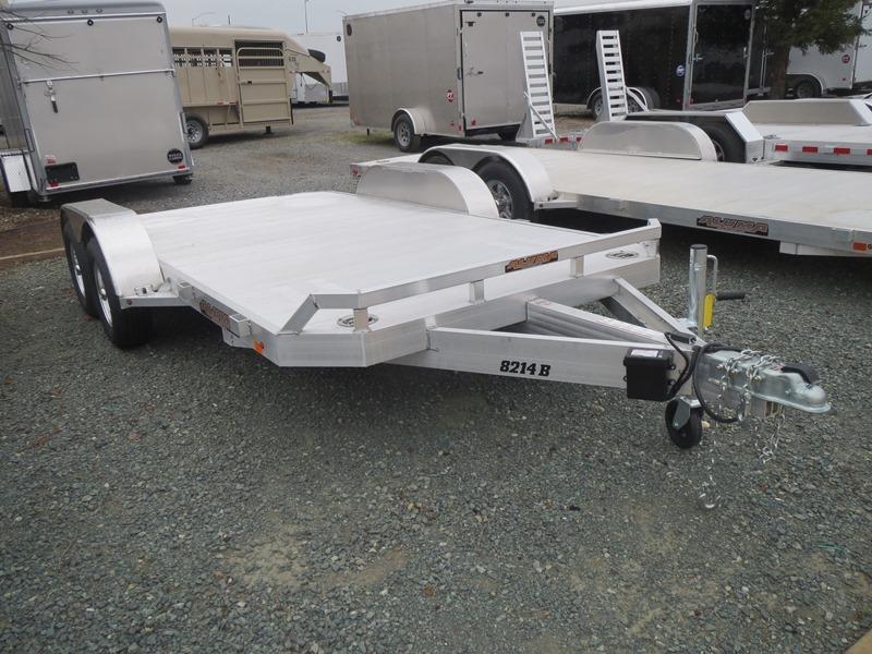 "NEW 2020 Aluma 8214B Car / Racing Trailer 82""x14' 7k GVW"