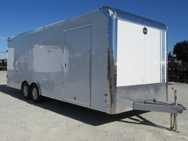 2017 Wells Cargo RFRT85X2424 8.5x24 Enclosed Cargo Trailer VIN 44949