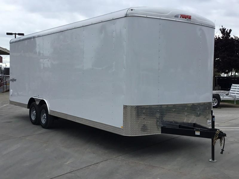 NEW 2019 Mirage MXL8.524TA2 8.5x24 Enclosed Cargo Trailer