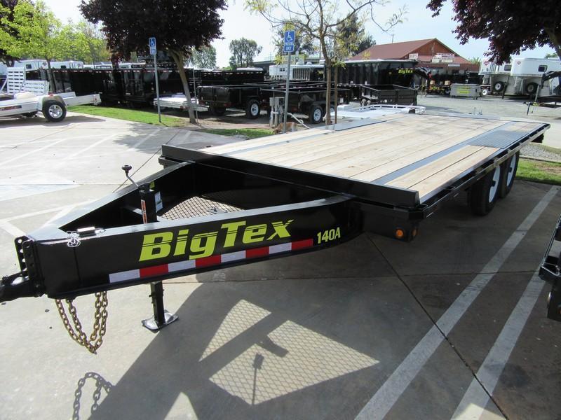 NEW 2018 Big Tex 14OA-18SIR 8.5x18 Equipment Trailer VIN:25020