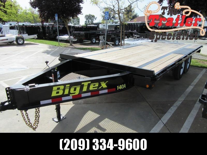 NEW 2019 Big Tex 14OA-18SIR 8.5x18 Equipment Trailer