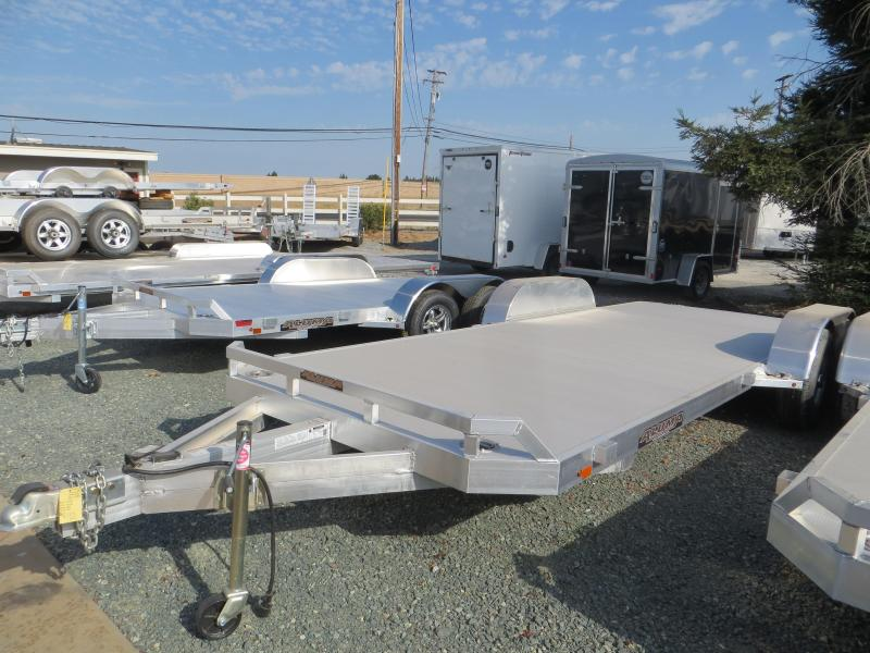 "New 2019 Aluma 8220HB 81""x20' 10k GVW Car Trailer"