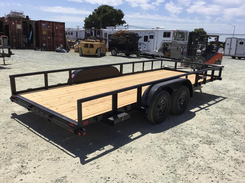 New 2019 Big Tex 70PI-18X 7x18 Pipe Utility Trailer