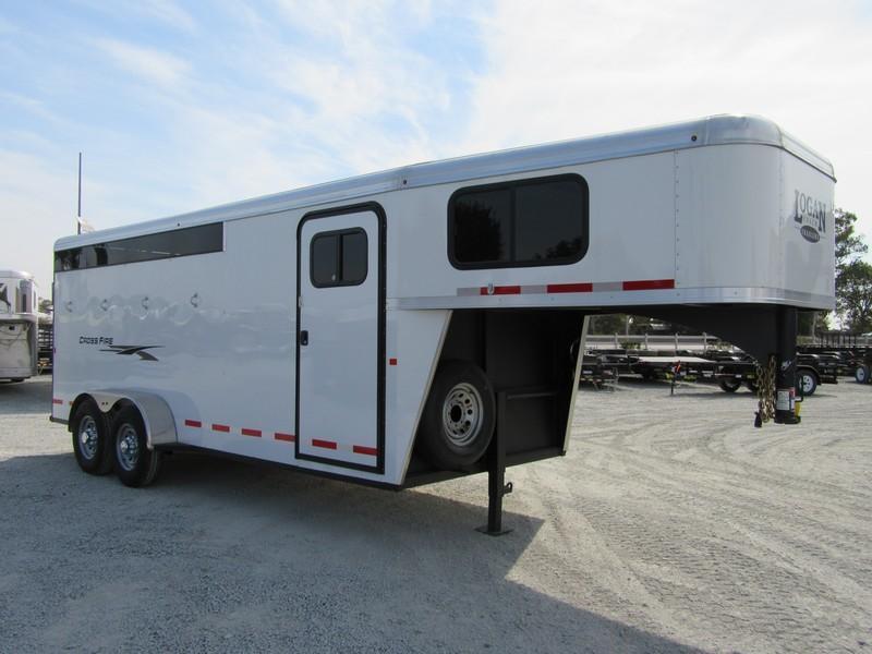 New 2019 Logan Coach Crossfire 4H GN Horse Trailer Vin05972
