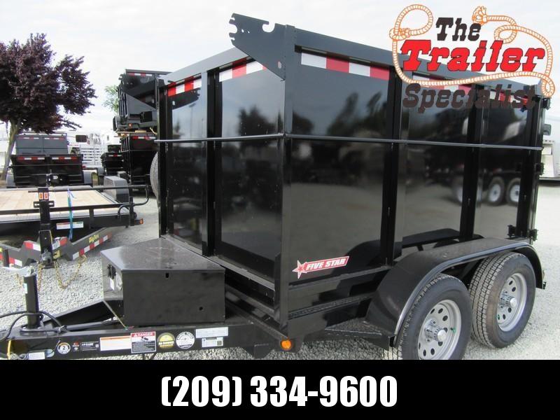 New 2019 Five Star DT290 5x8 Dump Trailer 7K 4' sides  in Ashburn, VA