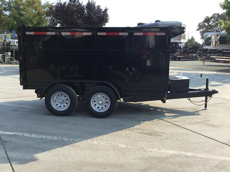 New 2019 Five Star DT257 6x10 7K GVW 4' Sides Dump Trailer