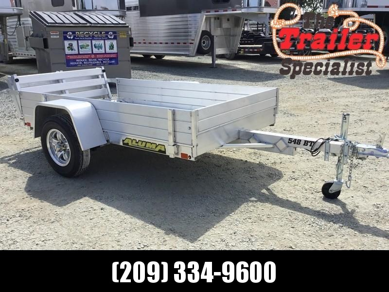 NEW 2020 Aluma 548BT 54x8 Utility Trailer