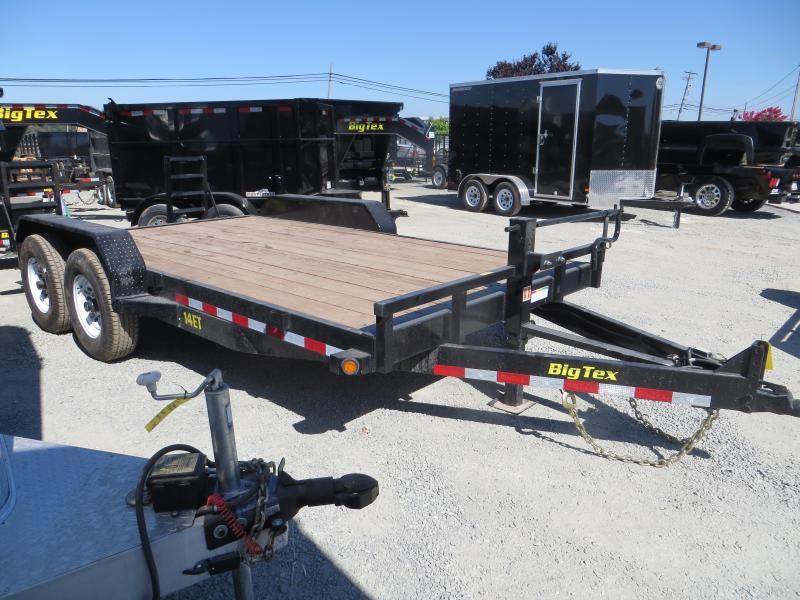 "2016 Big Tex Trailers 14ET-16KR Equipment Trailer 83""x16' Vin 71649"