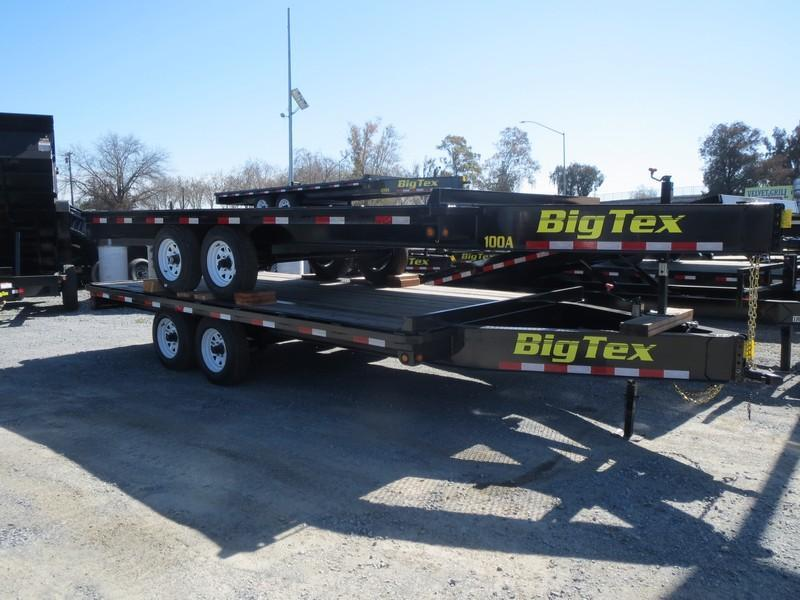 2017 Big Tex 10OA-16SIR Flatbed Trailer 8.5x16 VIN41831 in Chitina, AK