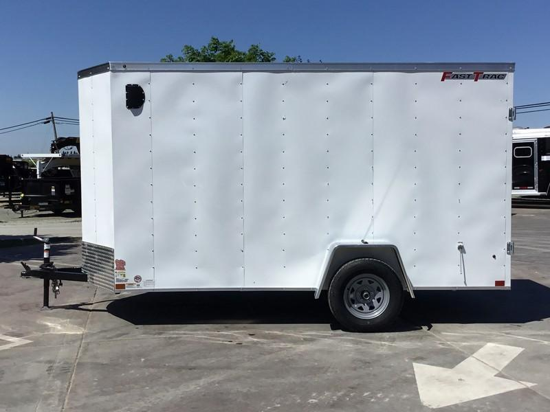 New 2019 Wells Cargo FasTrac FT612S2 6x12 Enclosed Cargo Trailer