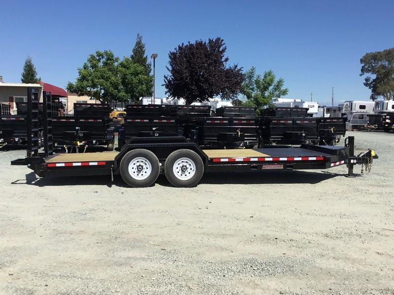 New Heavy Duty 2019 Midsota ST-20 7x20 15400 GVW Equipment Trailer