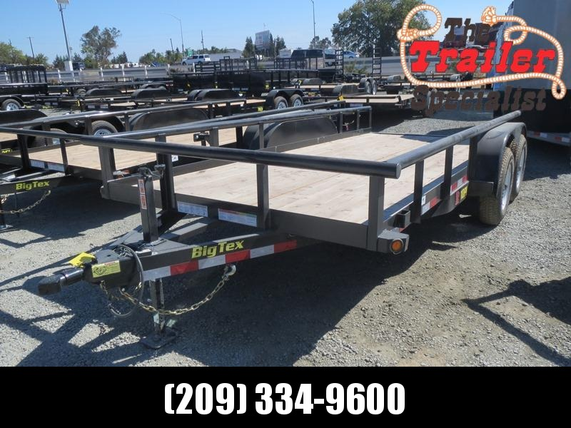 New 2020 Big Tex 10PI-16 7x16 10K GVW Pipe Utility Trailer