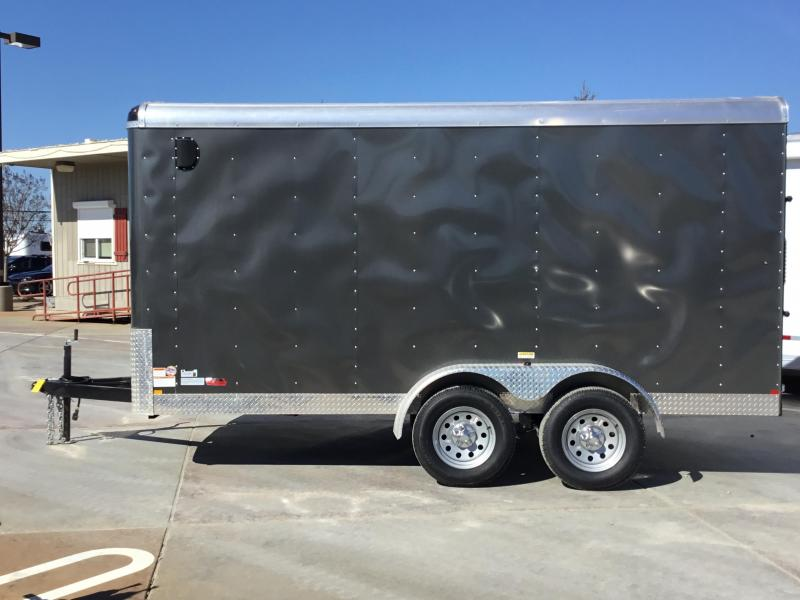 NEW 2019 Mirage MXL714TA2 7x14 Enclosed Cargo Trailer
