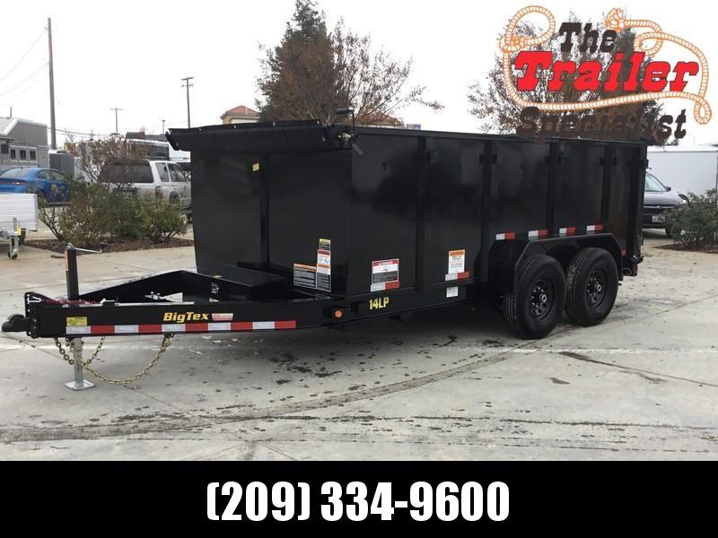 New 2019 Big Tex 14LP-14P4 7x14 14K Low profile Dump Trailer