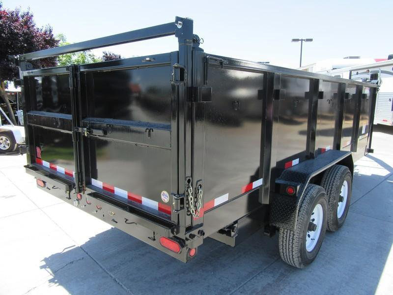 New 2018 Big Tex Trailers 14GX-16P3 Dump Trailer 14K GVW