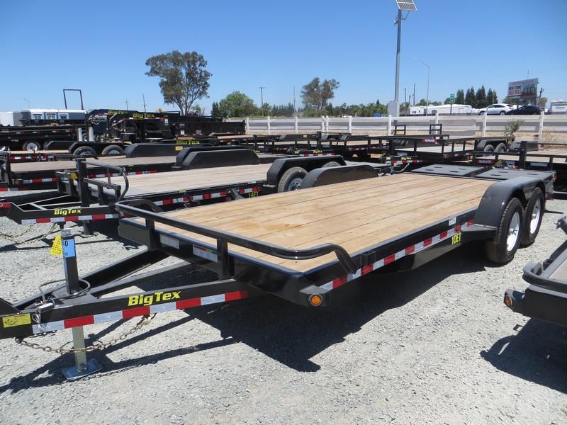 NEW 2017 Big Tex 10ET-20MR 7x20 Equipment Trailer VIN:69803