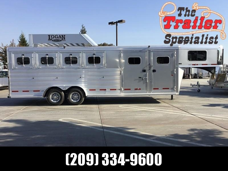 NEW 2019 Logan Coach 4H Alum XTR Horse Trailer