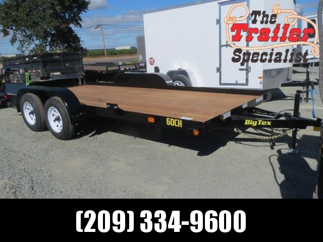 New 2018 Big Tex Trailers 60CH-16BRK2 Car / Racing Trailer