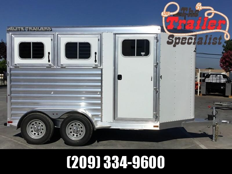 NEW 2019 Elite Trailers 2 horse Colt Bp Horse Trailer in Ashburn, VA