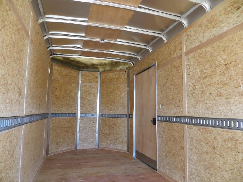 New 2016 Wells Cargo CW1622-102-V 7X16 Enclosed Trailer Vin: 20317