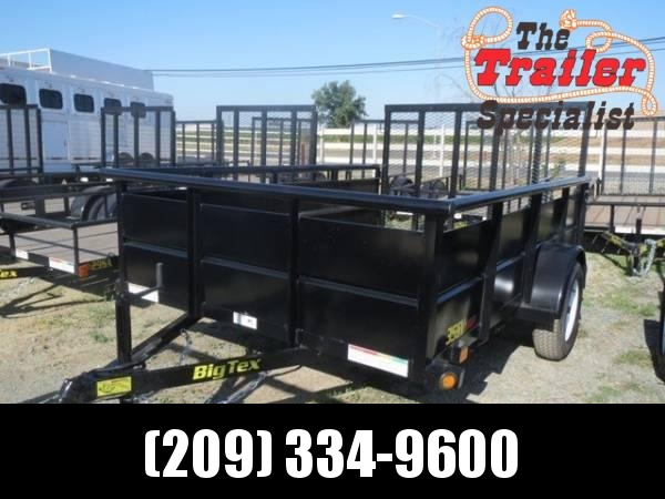 New 2019 Big Tex 35SV-10 6.5x10 Utility Trailer