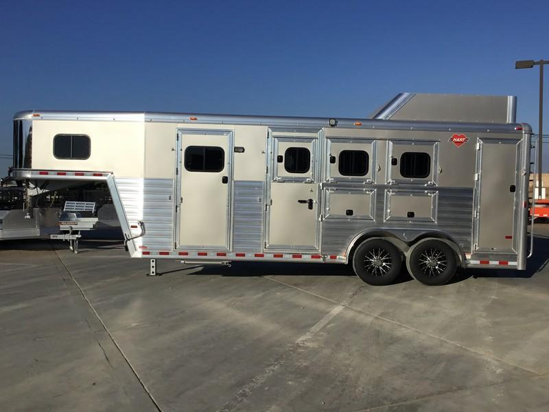 New 2019 Hart Trailers 3 Horse Tradition Smart Tack Horse Trailer