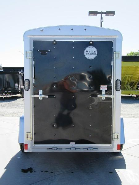 New 2017 Wells Cargo RF5X101 5x10 Enclosed Cargo Trailer Vin44940