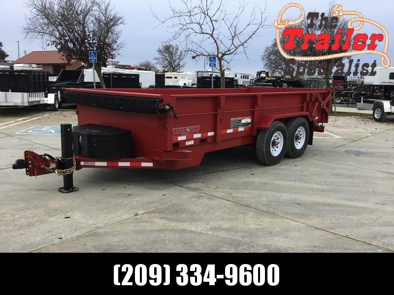 NEW 2019 Heavy Duty Midsota HV-16 7x16 Dump Trailer in Ashburn, VA