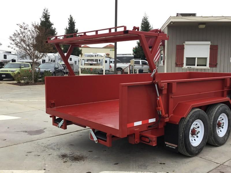 NEW 2019 Heavy Duty Midsota HV-16 7x16 Dump Trailer