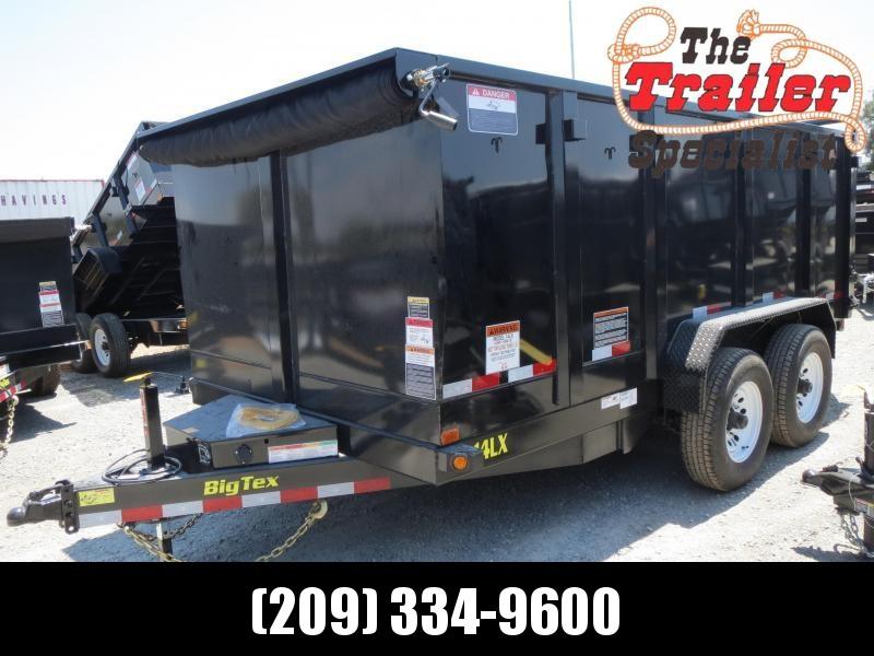 New 2019 Big Tex 14LX-14P4 4' sides 14K Dump Trailer