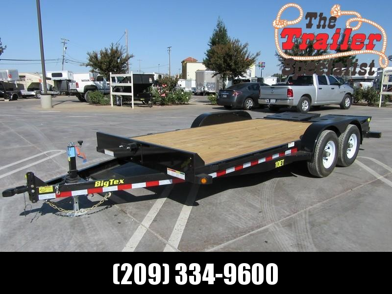 New 2018 Big Tex 10ET-16MR Equipment Trailer 7X186 10K GVW  in Ashburn, VA