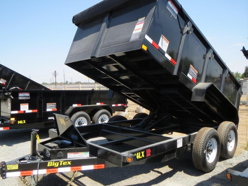 New 2019 Big Tex 14LX-12P3 Dump Trailer 7x12 14k GVW