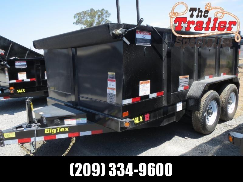 New 2019 Big Tex 14LX-12P3 Dump Trailer 7x12 14k GVW