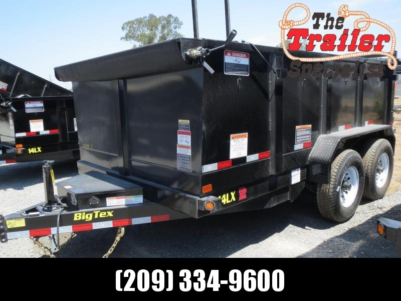 New 2019 Big Tex 14LX-12P3 Dump Trailer 7x12 14k GVW in Ashburn, VA