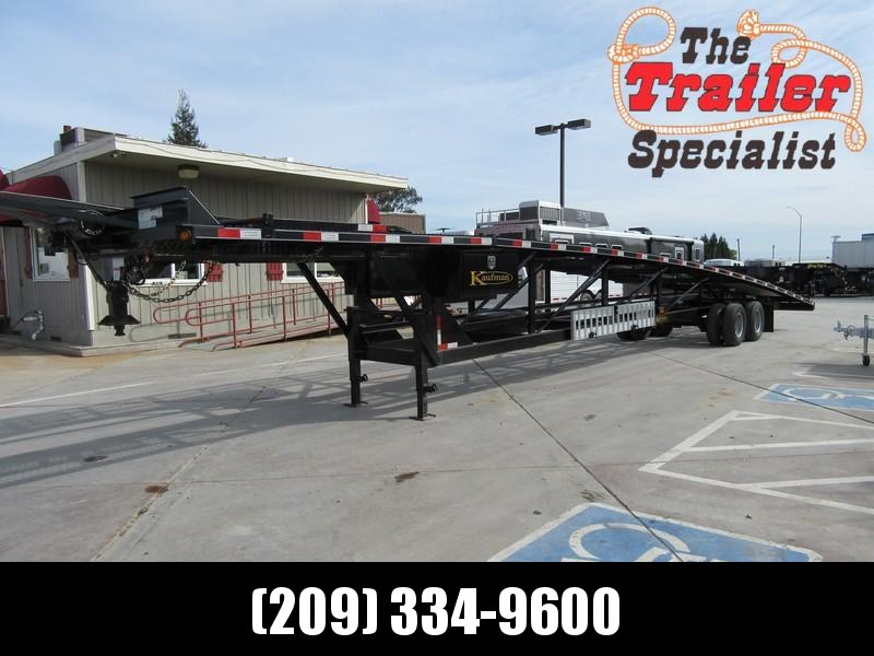 Preowned 2016 Kaufman 4 car hauler Car / Racing Trailer Vin 01124