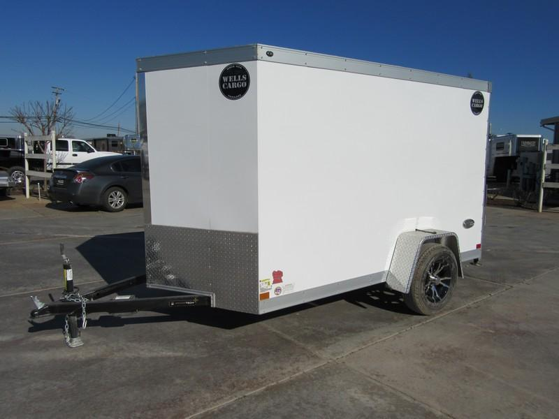 New 2018 Wells Cargo WCVG610S 6x10 Enclosed Cargo trailer