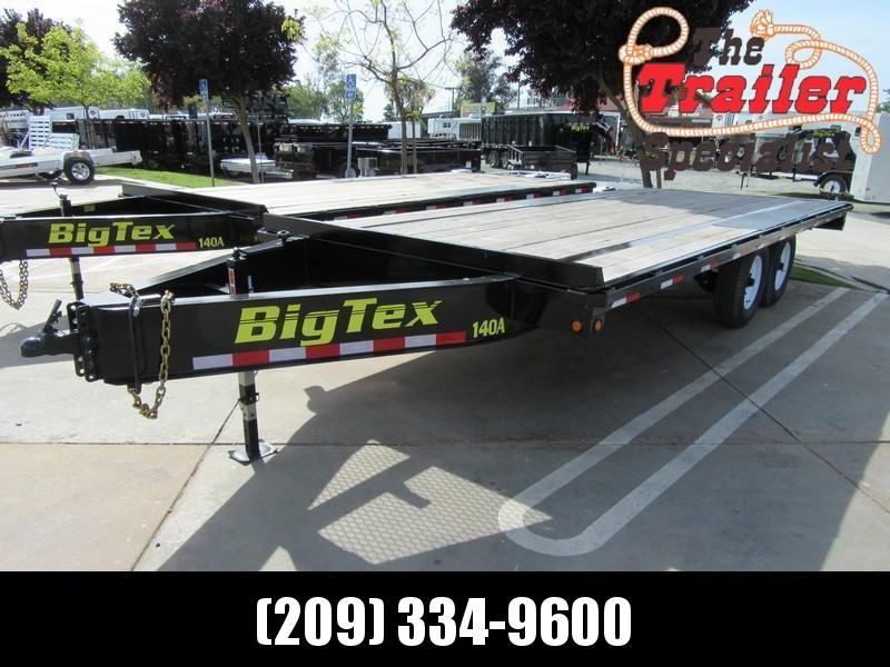 "NEW 2019 Big Tex Trailers 14OA-20SIR 102""x20' 14K Equipment Trailer"