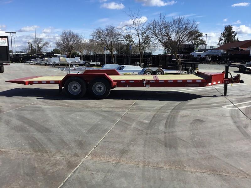 NEW Heavy Duty 2019 Midsota TB-22 7x22 15400 GVWR Equipment Trailer