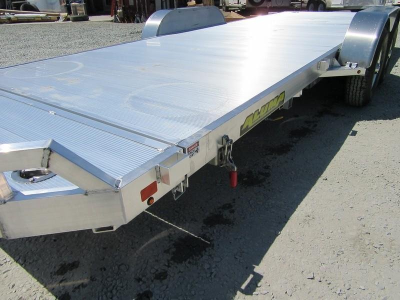 "New 2019 Aluma 8220HTilt 81""x20' aluminum 10k Car / Racing Trailer"