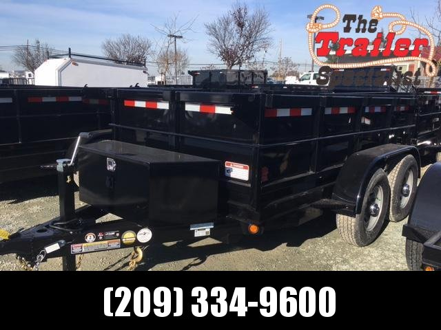 New 2019 Five Star DT255 5x10 10K GVW Dump Trailer