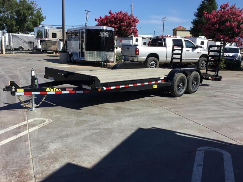 New 2019 Big Tex 10ET-20KR 7x20 10K GVW Equipment Trailer
