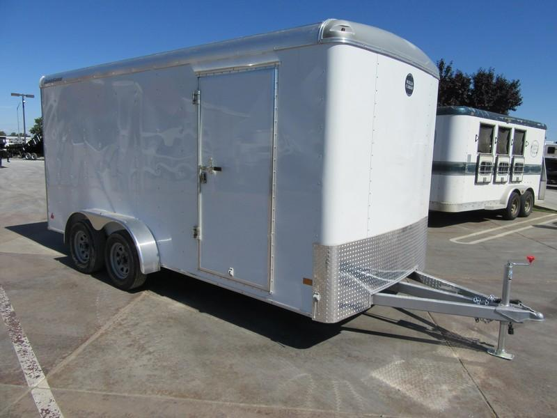 New 2017 Wells Cargo RF7x162 7x16 Enclosed Cargo Trailer VIN44947