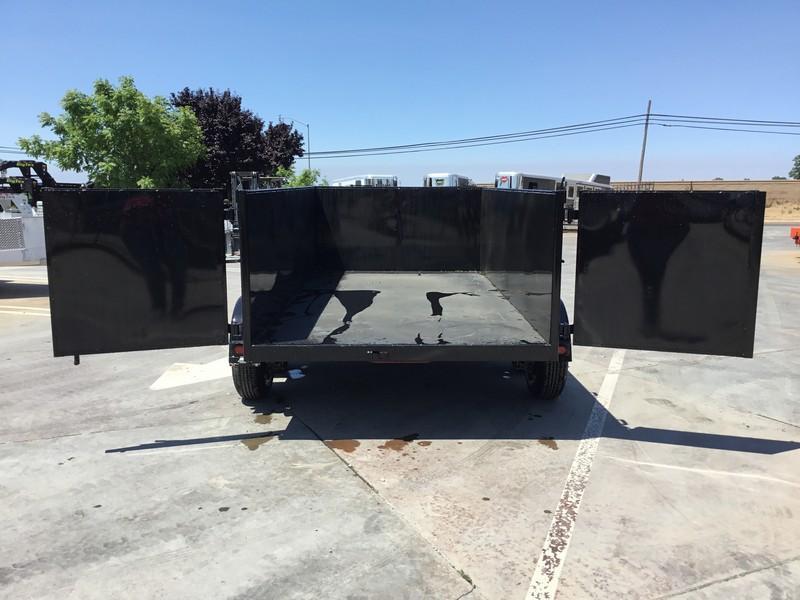 New 2018 Five Star DT261 P3 6x12 10K GVW 3' sides Dump Trailer