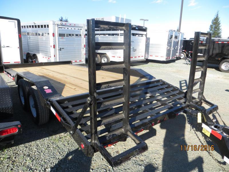"""New 2017 Big Tex 10DF-18 Equipment Trailer 102""""x18' VIN:31944"""