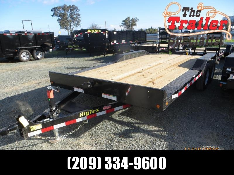 "New 2017 Big Tex 10DF-18 Equipment Trailer 102""x18' VIN:31944"