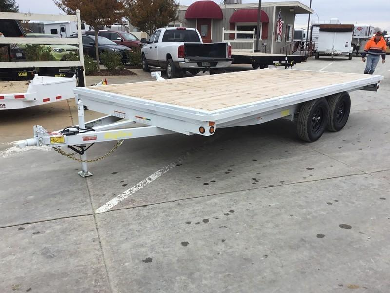 New 2019 Big Tex 70OA-16 8.5x16 Deck Over Utility Trailer