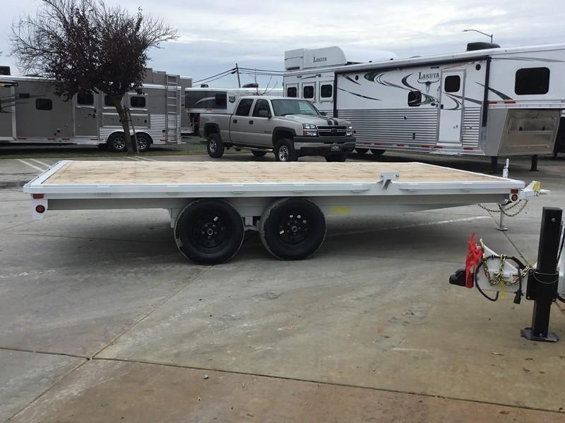 New 2019 Big Tex 70OA-16 8.5x16 Deck Over Utility Trailer